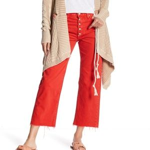 Free People Rolling On The River Straight Jeans